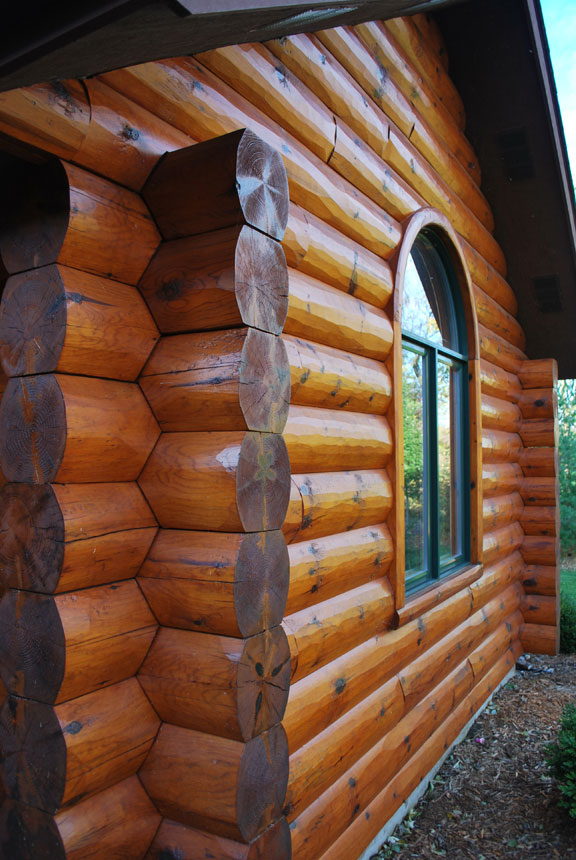 Log Corners And Log Siding Corner Systems
