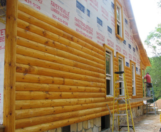 Log Trim And Siding Trim