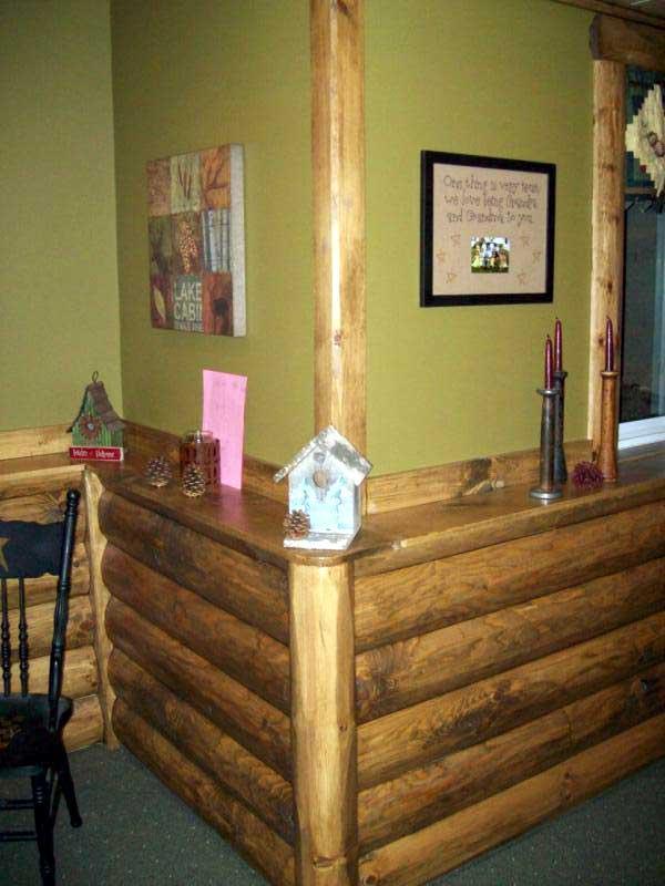 Log Siding Interior Walls. faux finishes pain log cabin walls i ve ...