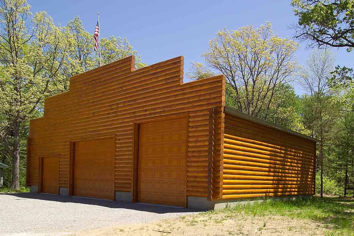 3x8 log siding hand hewn pine - 3x8 Log Siding Hand Hewn Pine 43