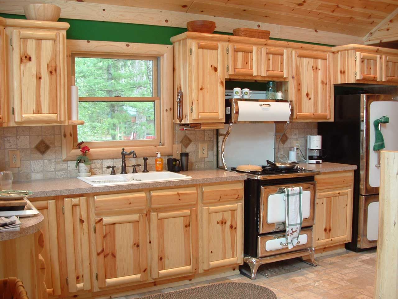 Knotty pine kitchen ceiling my vintage kitchen ideas - Knotty Pine Kitchen Ceiling My Vintage Kitchen Ideas 36