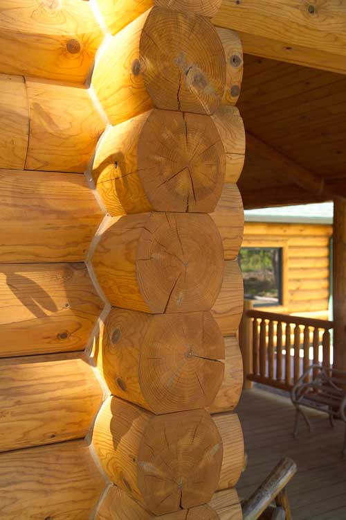 Log Corners And Log Siding Corner Systems